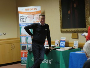Iain Norwood the Supportx rep at the Autumn Meeting 16-11-14