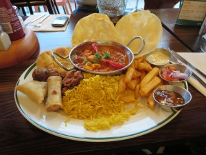 A good curry at a local pub on the Friday evening before the start of the IA National Conference in Newcastle on 12th April 2014