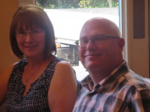 Lincs IA Late Summer meal 7th Sept 2014 Sandra and Clive Staniland