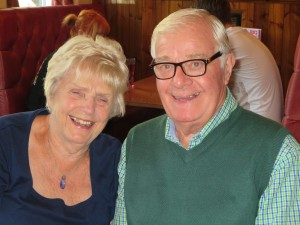 Lincs IA Late Summer meal 7th Sept 2014 Edna and George