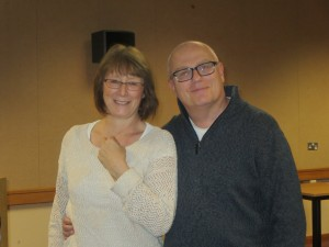 Lincolnshire IA Autumn Meeting Saturday 15th November 2014 With Sandra and Clive Staniland. Clive's our new Treasurer