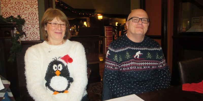 Lincolnshire IA Christmas Meal at The Homestead Lincoln Sunday Lunchtime 7th December 2014