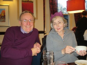 Lincolnshire IA Christmas Meal at The Homestead Lincoln Sunday Lunchtime 7th December 2014 John and Christine Hague