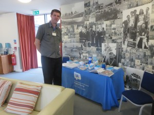 David Brown with the Lincolnshire IA Stand