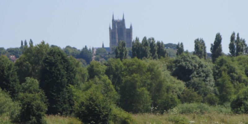 Scenic view of Lincoln Cathedral