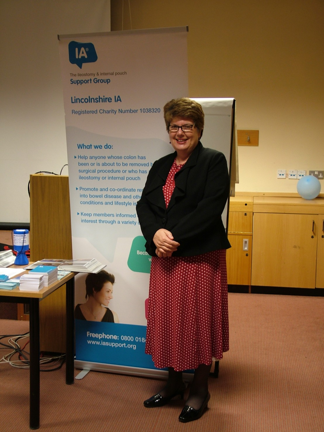 GUEST SPEAKER JUDY THEOBALD AGM 18-05-13