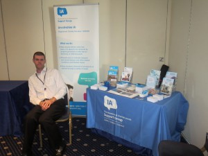 David Brown at The Salts Health and Wellbeing morning at The Bentley Hotel Lincoln on 13-09-13