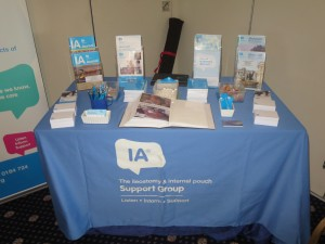 Table top Display at The Salts Health and Wellbeing morning at The Bentley Hotel Lincoln on 13-09-13