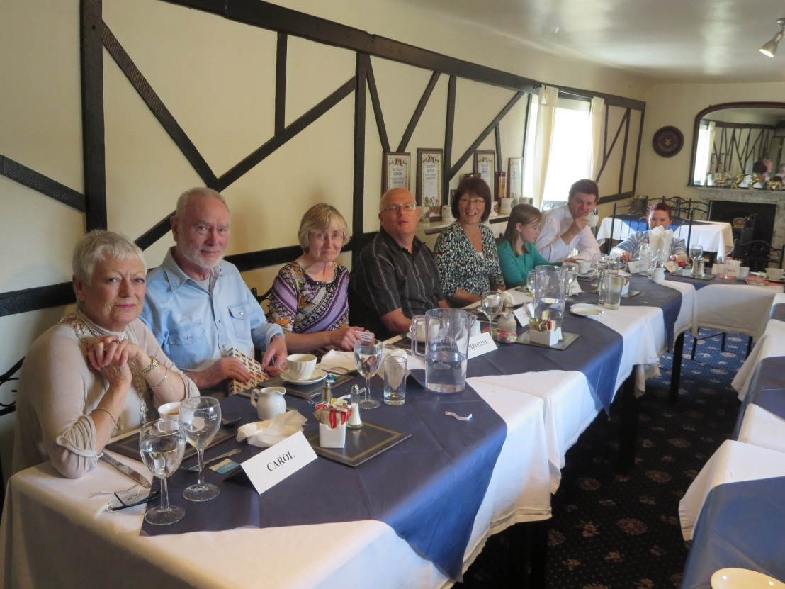 Members at the Late Summer Meal 1-9-13